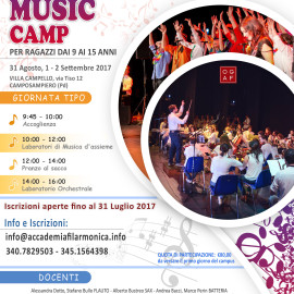 2° SUMMER MUSIC CAMP