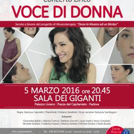 VOCE DI DONNA – 5 marzo 2016