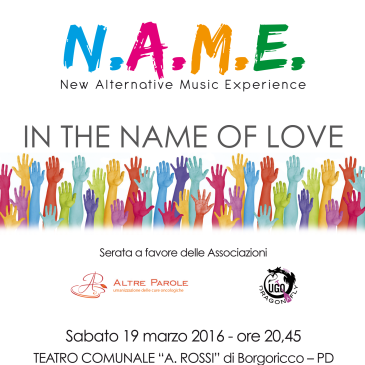 N.A.M.E. In the name of Love