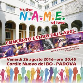 Concerto Estivo dell'ARCS – 26 agosto 2016