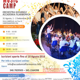 1° Summer Music Camp