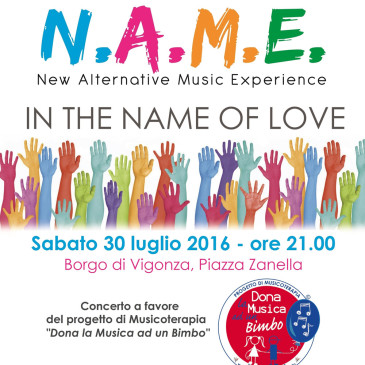 N.A.M.E. Concerto a Vigonza 30 luglio 2016